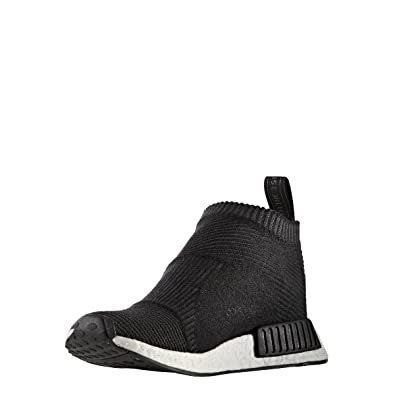 df90d6e40a9c1 Image Unavailable. Image not available for. Color  Adidas NMD CS1 PK Nomad  Runner City Sock Primeknit Core Black White S32184 ...