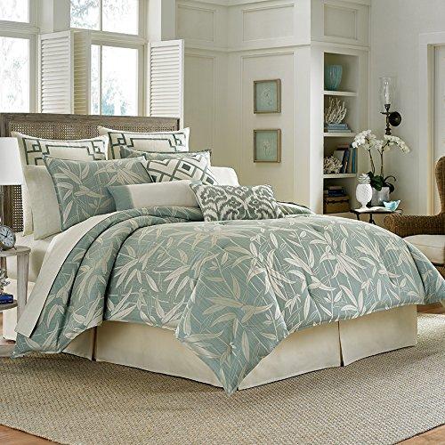 Tommy Bahama Bamboo Breeze King Comforter Set Pale Aqua