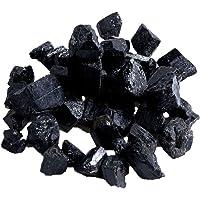 Vosarea Tormalina Naturale Nera Grezza Tormalina Cristallo Pietra Quarzo Naturale per cristalloterapia Decorazione di Gioielli - 100 g