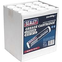 Sealey sgc12cartucho de grasa, 400g, Set de 12