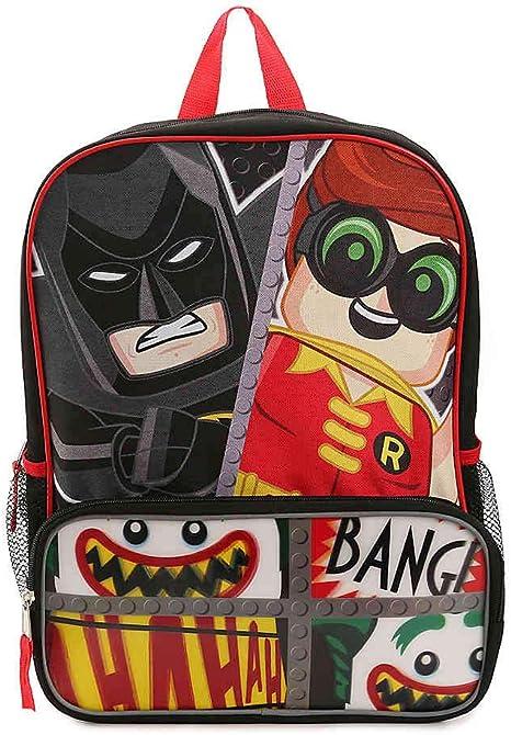 Lego Batman Large Cordura Backpack - Lego Batman Boys' Large Cordura Backpack
