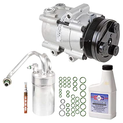 Amazon com: AC Compressor w/A/C Repair Kit For Ford Mustang