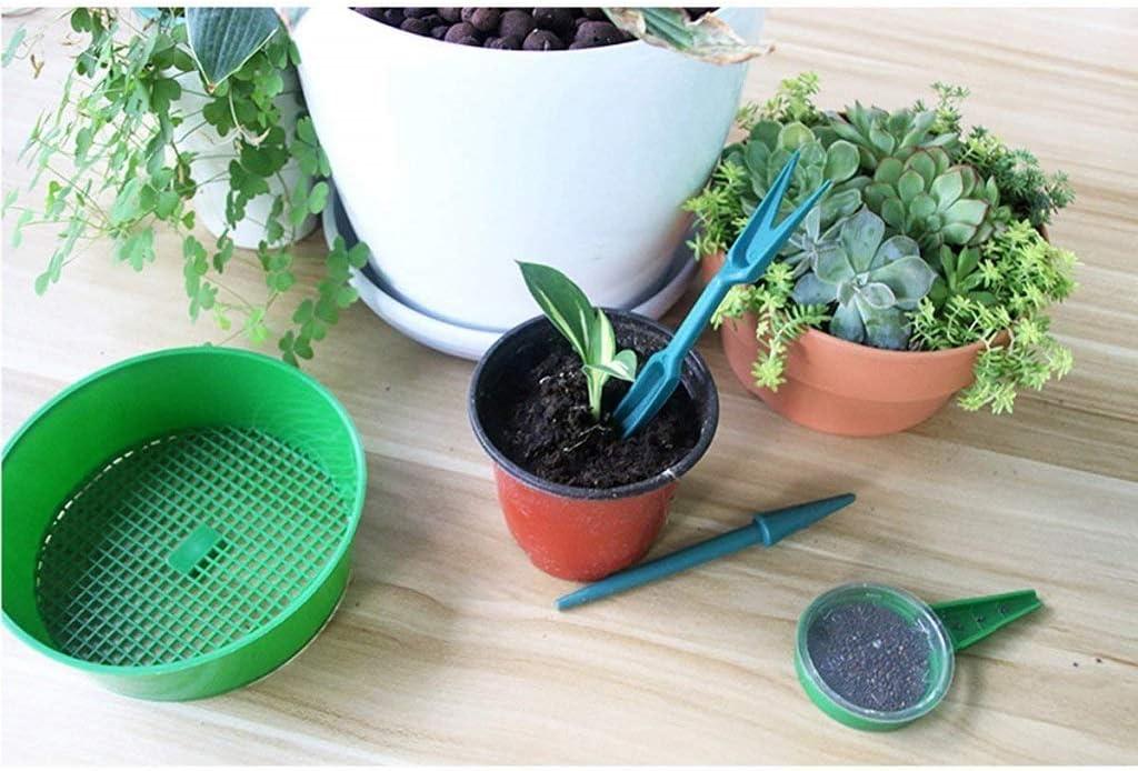 Amuzocity 3mm Mesh Garden Soil Sieve Riddle Riddler Sifter