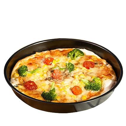 HOBULL Molde para pizza, antiadherente, para repostería, pasteles, repostería, hornear,