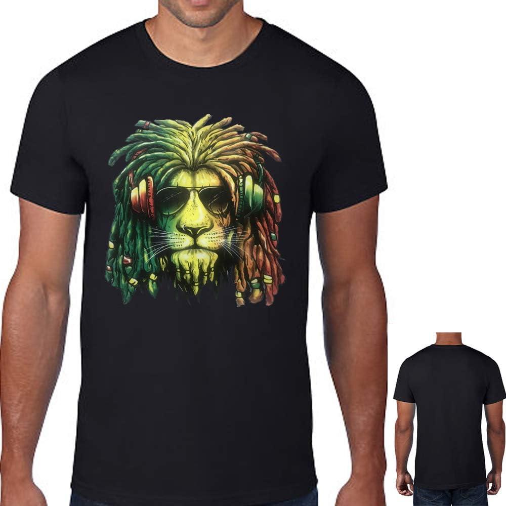 Reggae Rastafari Rasta Regalo M/úsica Camiseta sin Mangas