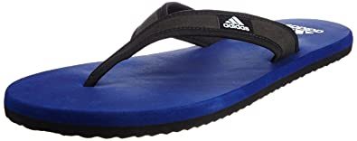 91b8190ba Adidas Men's Adi Rio Dark Blue, Black and White Flip-Flops and House  Slippers
