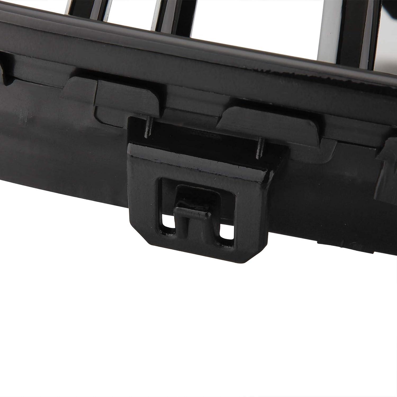 Griglia del radiatore a doppia barra per E90 e E91 3 pezzi colore nero