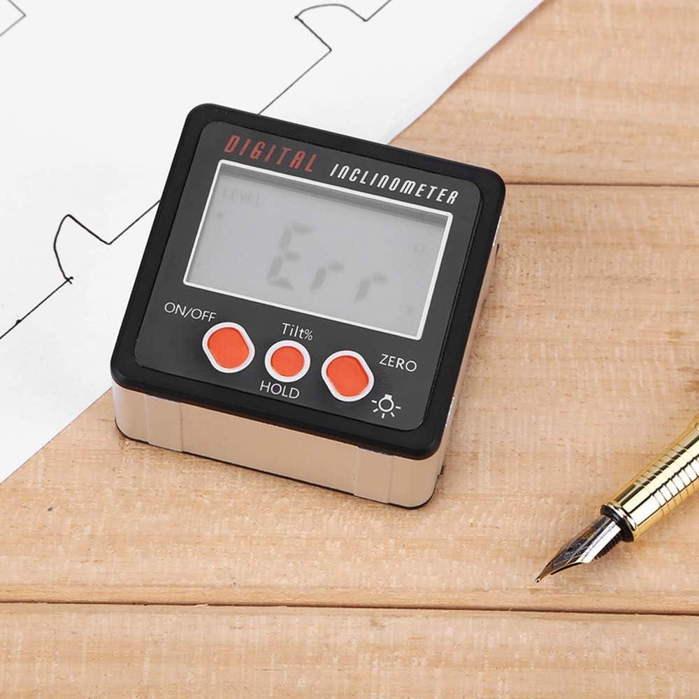 Digitaler Winkelsucher Bevel Box Mit Magnetfu? Beauneo Winkelmesser Pr?zision Digital Winkelmesser Neigungsmesser Level Box