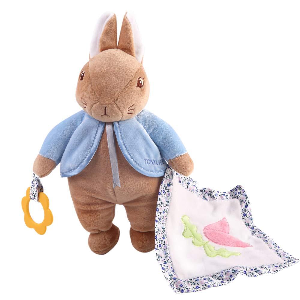 Coerni Cute Stuffed Plush Doll, Soft Bunny Rabbit Stuffed Animal Baby Gift Animals Doll