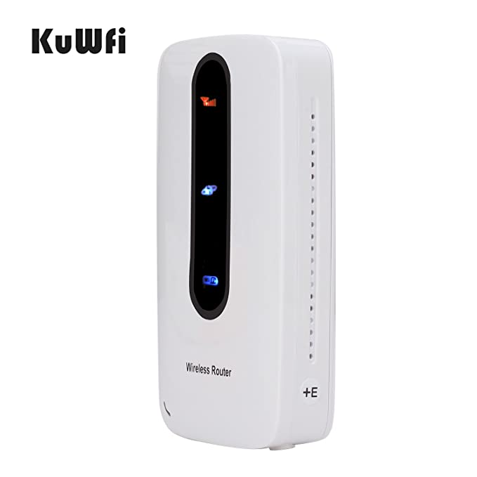 KuWFi Smart Mobile Portable 3000mAh Power Bank 3G Router ...