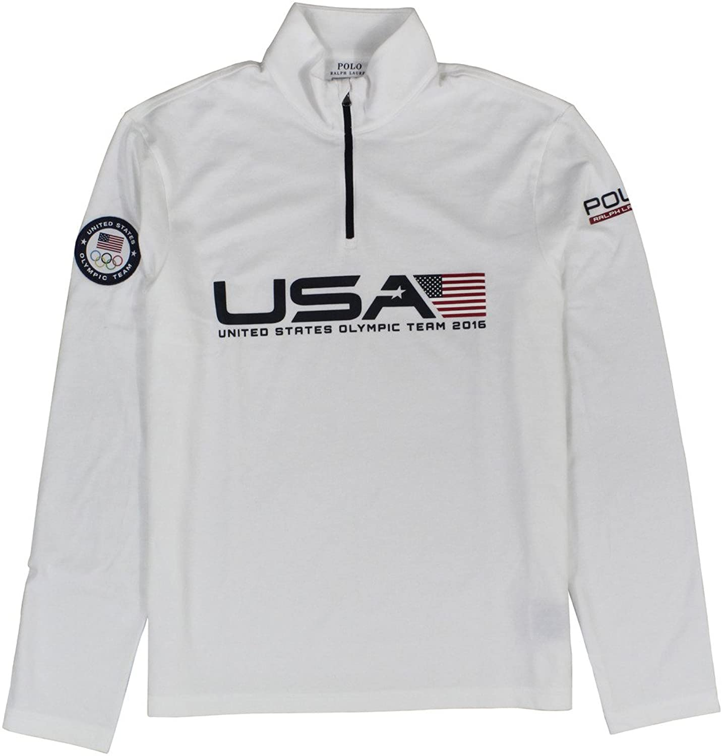 Polo Ralph Lauren Men\u0027s 2016 Olympic USA Team Jersey Pullover Sweaters at  Amazon Men\u0027s Clothing store: