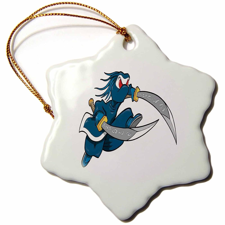 Amazon.com: 3dRose Ninja Warrior Monster Character ...