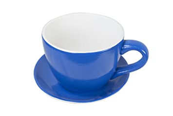 West5products Giant Blue Teacup Saucer Planter Amazon Co Uk