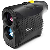 papasbox Hunting Range Finder 650 Yards Laser Rangefinder for Hunting Golf with Pin-Seeker Flagpole Locking, Range Scan, Fog and Speed Mode Outdoor Wild Distance Measuring Hunt Rangefinder