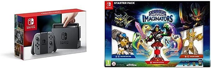 Nintendo Switch - Consola, color gris + Skylanders Imaginators: Amazon.es: Videojuegos