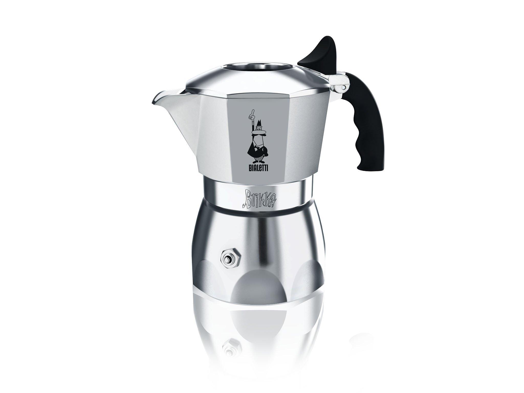 Bialetti ''Brikka'' Stove Top Espresso Maker, 2-cup (3 Oz)