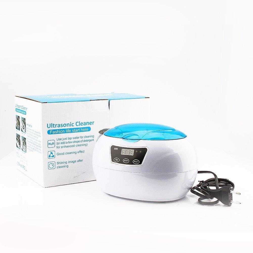 600 ML Limpiador Ultrasónico Máquina de Desinfección Esterilizador Limpiador por Ultrasonidos Para Gafas, Joyas, CD, Chupete, Relojes, Cubiertos, ...