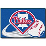 MLB Philadelphia Phillies 20-Inch-by-30-Inch Tufted Rug