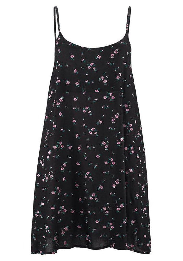 e7591c7c6c Buffalo Dress Beach Dress Black with Print: Amazon.co.uk: Clothing
