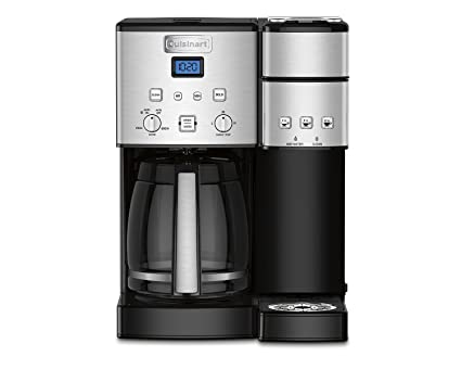 171bd7b2944 Image Unavailable. Image not available for. Color  Cuisinart SS-15 12-Cup  Coffee Maker and Single-Serve Brewer ...