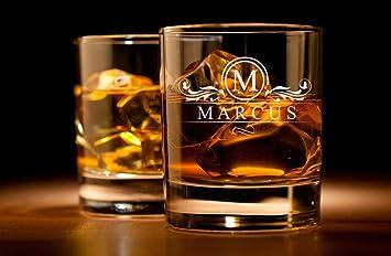 Whiskyglas mit Gravur - Personalisiert mit Namen und Jahreszahl -  verschiedene Motive zur Auswahl, Motiv für Whiskyglas:Motiv 300-07