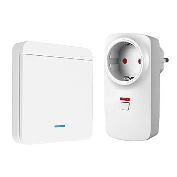 Interruptor de enchufe inalámbrico para luz, ventiladores, horno ...