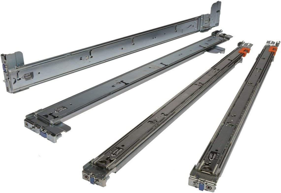 Dell PowerEdge R320/R420/R620 Server Sliding Rails 1U RAIL KIT 09D83F (Renewed)