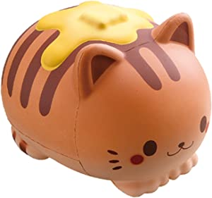 ibloom Nyan Pancake Cat Slow Rising Squishy Toy (Chocolate, Chocolate Scented, 5.9 Inch) [Birthday Gift Box, Party Favors, Gift Basket, Stress Relief Toys for Kids, Adults]