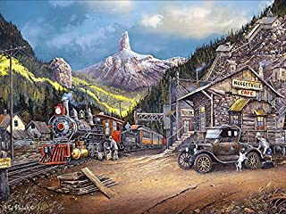 product image for Ceaco Blaylock Nuggetville 1920 Puzzle (750 Pieces)