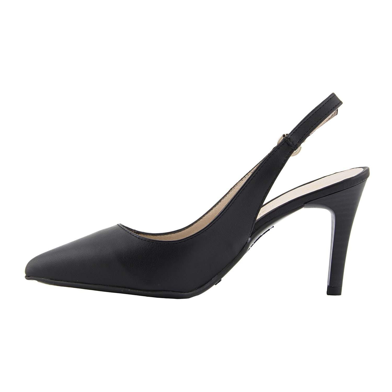 Chaussures en Cuir des Contre-Dépouilles Taille: 36 Couleur: Noir DDiQf6nfF