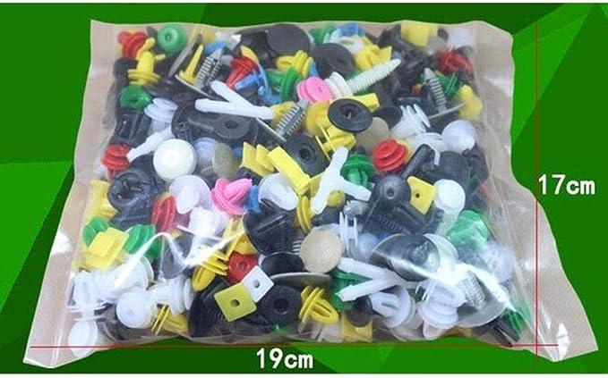 NAYUKY 100Pcs Caso di miscelazione Clip Universal Car Fender plastica Automobile Interni Fissaggio Paraurti Arredamento Auto Plastic Fastener