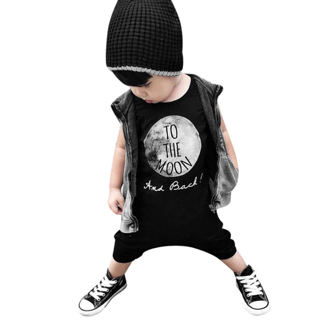 FEITONG Newborn Infant Kids Boy Girl Romper Jumpsuit Bodysuit Outfit Clothes FEITONG666 Baby Boys Clothes