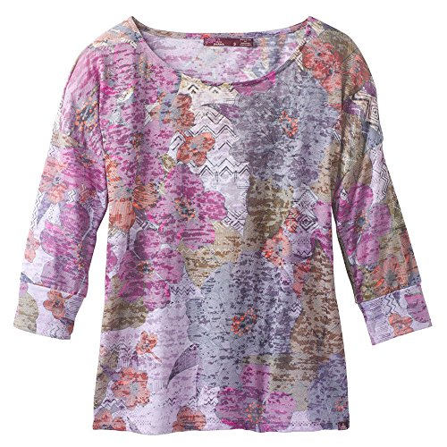 Bouquet Sweater (prAna Bouquet Top, Deep Fuchsia Springtime, X-Large)
