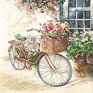 20 Servilletas 33 x 33 cm flores de primavera verano Flower de ...