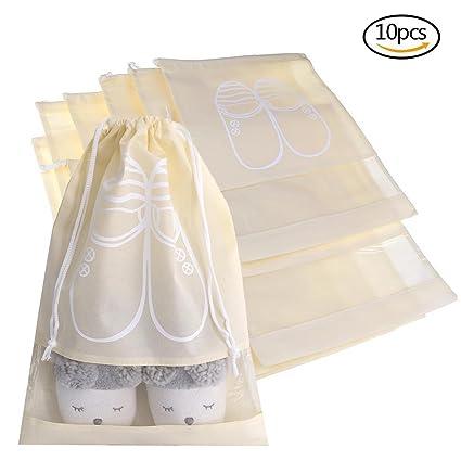 10 pcs cordón multifuncional bolsa de almacenamiento a ...