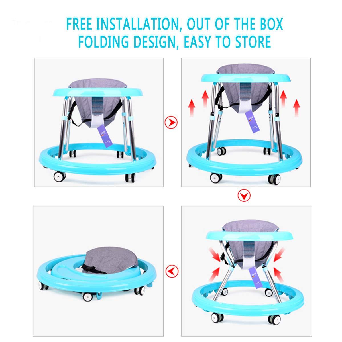 G-AVERIL - Andador para bebé, multifuncional, plegable, juguete ...