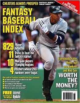 Fantasy Baseball Index 2008: Stu Shea, Jay Jaffe, and John Sickels