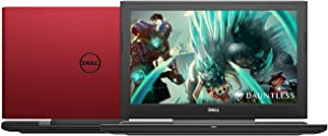 2019 Dell 15.6-inch Full HD Gaming IPS Laptop PC, Intel Hexa Core i7-8750H Processor, Nvidia Geforce GTX 1050 Ti 4GB, 16GB RAM, 1TB Hard Drive, 128GB SSD, Backlit Keyboard, Windows 10, Red