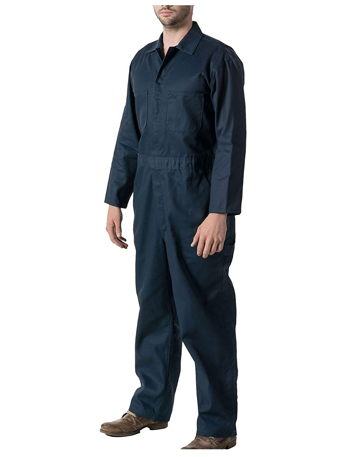 GRS Mens Unisex C2 Lightweight Dark Navy Boiler Suit Coverall Overalls for College Student Workshop Halloween Costume (Various Sizes: XSmall - 3XL)