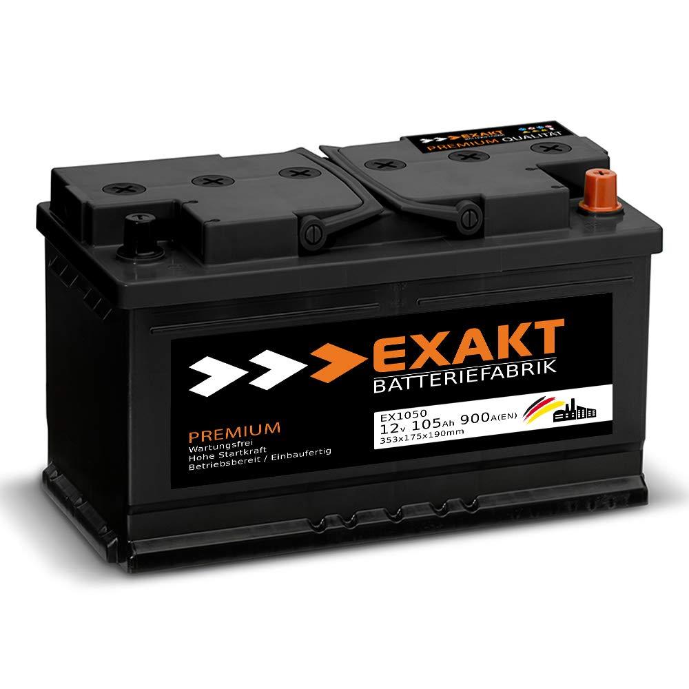 WINTER Premium Autobatterie 12V 65Ah 610A//EN statt 60Ah 61Ah 62Ah 63Ah 64Ah