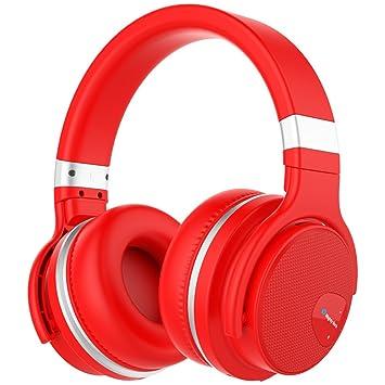 Auriculares Inalámbrico, Mighty Rock E7 Auriculares Bluetooth de Diadema Inalámbricos con Micrófono Manos Libres y Estéreo, Cascos Bluetooth Orejeras de ...