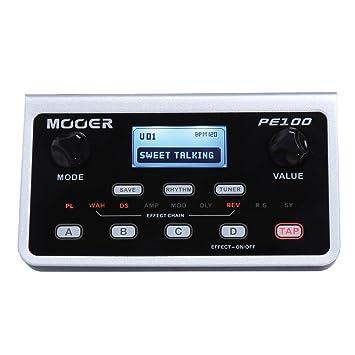 Mooer PE100 - Pedal de efectos para guitarra: Amazon.es: Instrumentos musicales
