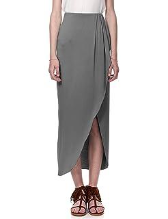 4f6822b64e998 Regna X Boho Women s Summer Cool Lightweight Maxi Long Skirt (3 Styles