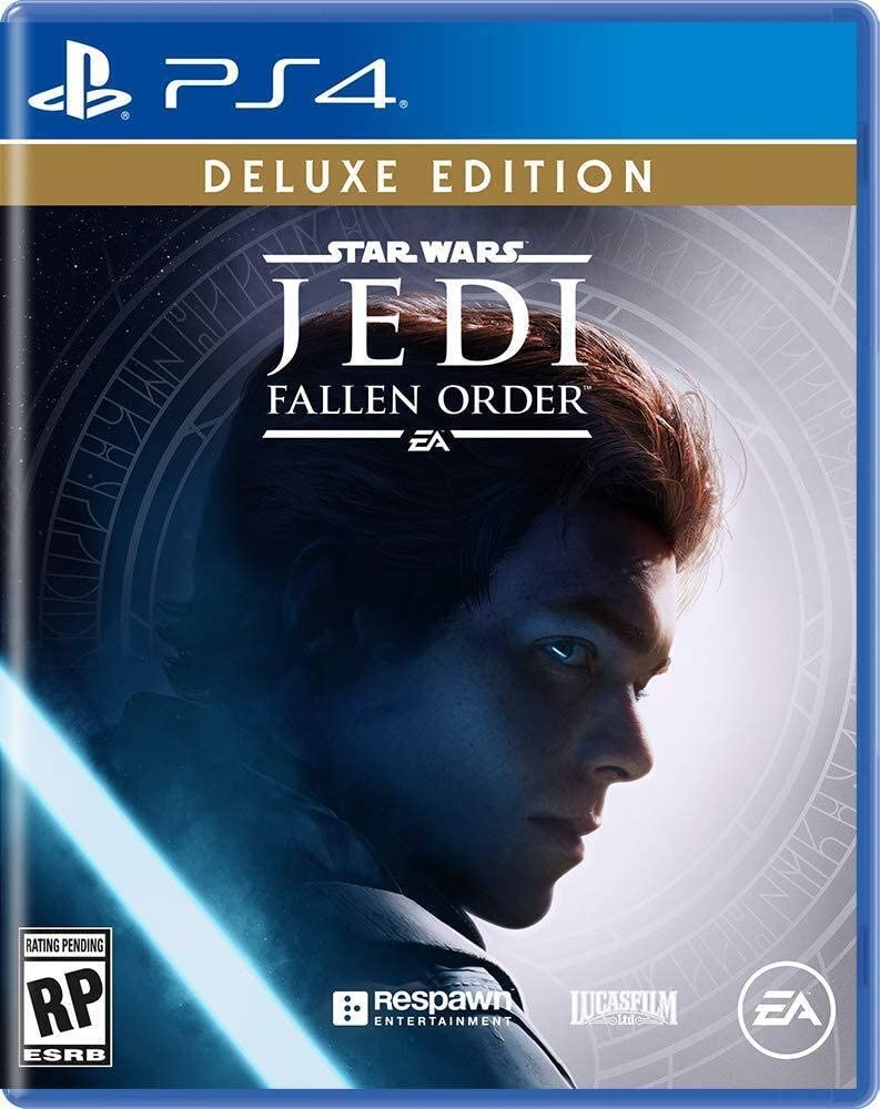 Star Wars Jedi: Fallen Order Deluxe Edition - Playstation 4 (fisico)