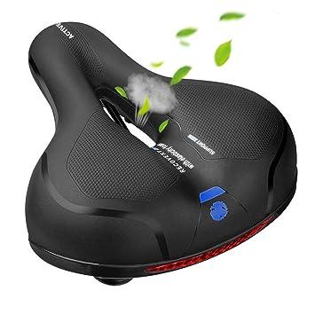 Amazon.com: MSDADA Cómodo asiento de bicicleta acolchado ...