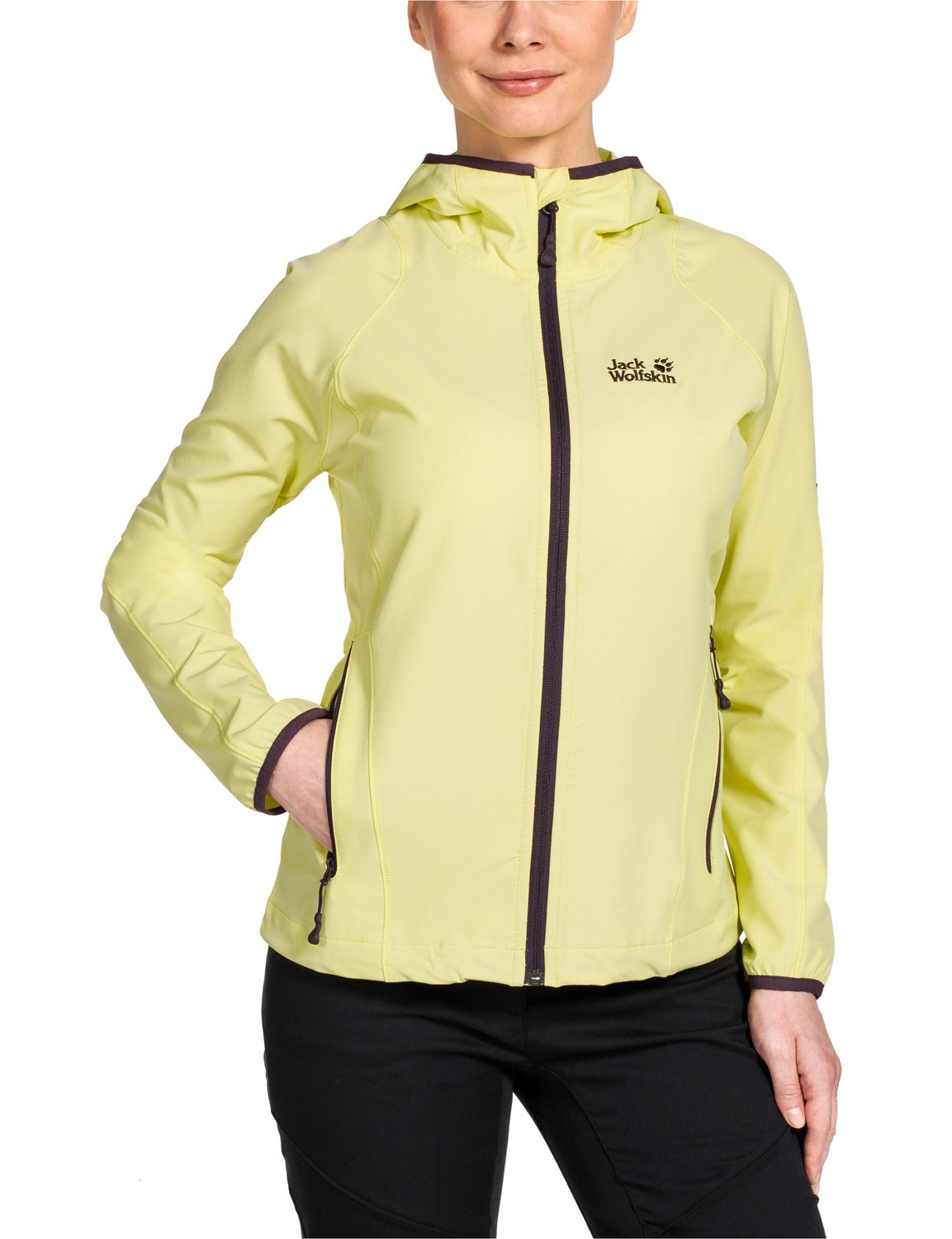 Jack Wolfskin Damen Softshelljacke Turbulence Jacket Women