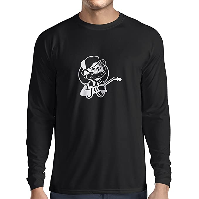 N4055L Camiseta de Manga Larga Funny Gas Monkey: Amazon.es: Ropa y accesorios