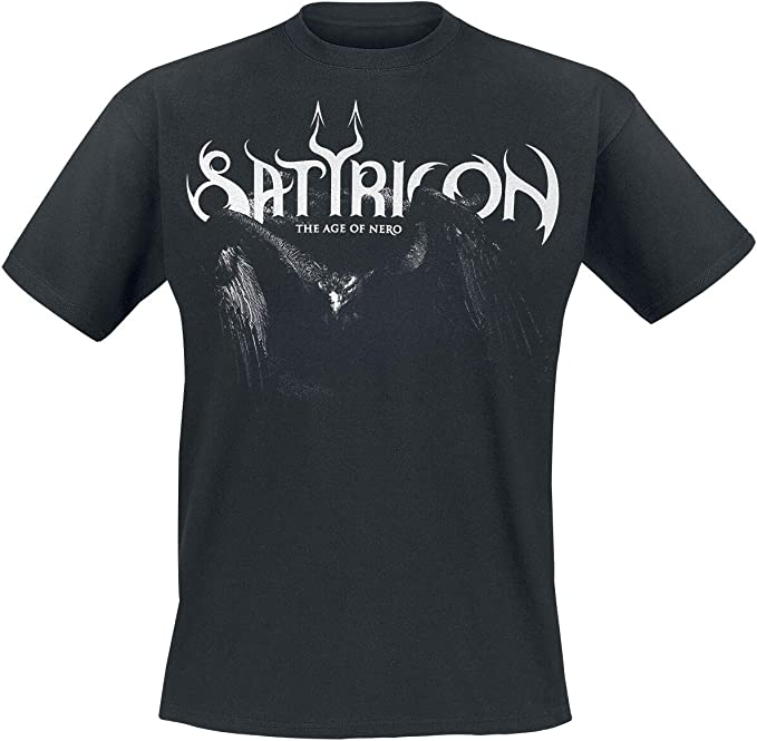 Satyricon /'Age Of Nero/' T-Shirt NEW /& OFFICIAL!