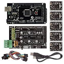 SainSmart RAMPS 1.4 3D Printer Starter Kit with Mega2560 + A4988 for Arduino RepRap *Step-By-Step PDF Tutorials Provided*
