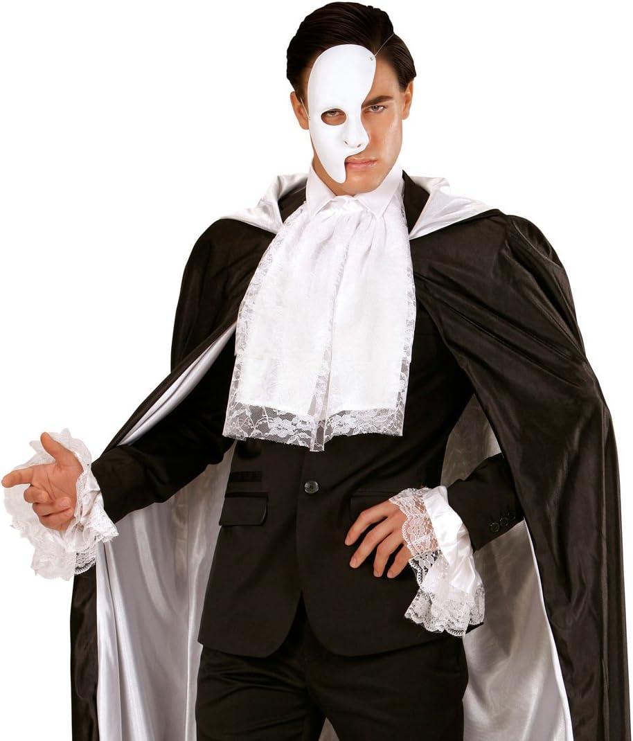 NET TOYS Jabot de Dentelle Burlesque col brod/é Macram/é Baroque col de Dentelles Rococo Vampire Volants Moyen-/âge Bijou d/éguisement de Carnaval Accessoires